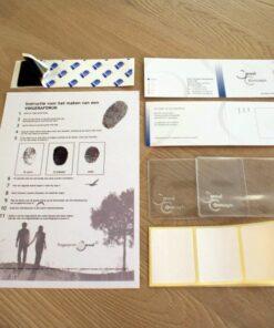 Print kit za Otisak prsta Print box