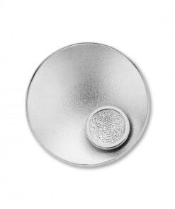 Sphere Round srebro Privjesci